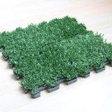 連結のプラスチック人工的な草のマット