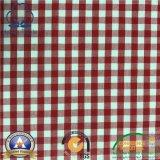 """Praça de 1/4"""" 65% Poli 35% algodão tecido tingido com Pátio"""