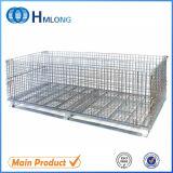 Contenitore rigido della rete metallica del metallo pieghevole d'acciaio