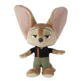 Personagem de brinquedo de pelúcia recheado de personagem de desenho animado brinquedo macio para promoção