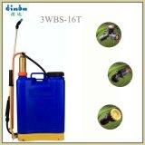16L Pulvérisateur manuel sac à dos de l'agriculture avec la chambre à air en laiton