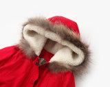 冬の服装のための西部の細くの女の子の子供のコート