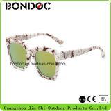 Óculos de sol quentes do plástico do tipo da forma do Sell