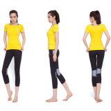 [هيغقوليتي] نظام يوغا صديرية نساء قميص نساء [لغّينغس] يعدو لباس