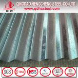 Tôle d'acier ondulée galvanisée plongée chaude de paillette zéro