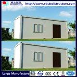 costruzioni mobili del container di 20FT con i comitati solari