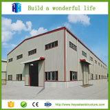 El almacén temporal estructura el taller industrial para el alquiler