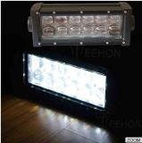 barre d'éclairage LED de CREE de 7.5inch 36W avec la lentille 4D
