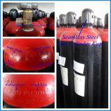 50L de Gasfles van Seamless Steel High Pressure Hydrogen (ENGELSE ISO9809)
