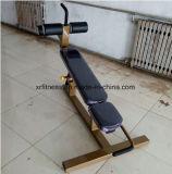 Ejercicio comercial equipos de gimnasio de la máquina banqueta regulable