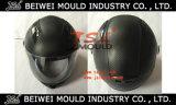 La cara llena del casco de la motocicleta de inyección de plástico del molde