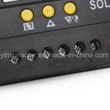 Contrôleur de charge solaire 30A / 24V avec panneau solaire pour système d'alimentation solaire