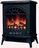 鋳鉄は好む手動スイッチ(WS-D-01-2)が付いている支えがない電気暖炉を