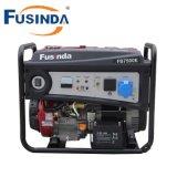Générateur portatif d'essence de pouvoir de Fusinda, générateur à la maison avec du ce (1KW-7KW)