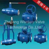 De Fabriek St. 37 van China de Tap Opgezette Volledige Gelaste Fabrikant van Wenzhou van de Kogelklep