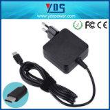 Tipo caricatore dell'adattatore di potere di fabbricazione 45W di Shenzhen del USB del computer portatile di C