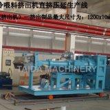 1200mm Gummiblatt-kalter Zufuhr-Extruder