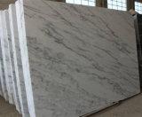 Dalle et carrelage en marbre blanc poli, marbre blanc Guangxi chinois