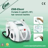 E9b-Eboni携帯用2in1 IPL+RF Elightの毛の取り外し機械