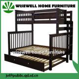 Base de beliche de madeira da mobília do quarto com Trundle (WJZ-B80)