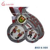 カスタム銅の円形の金属メダルクラフトメダルは卸し売りする