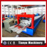 Rodillo de acero adaptable del Decking del suelo del metal que forma haciendo la máquina