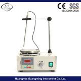 Mescolatore magnetico del laboratorio economico con la piastra riscaldante
