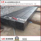 Tubo de acero de la casilla negra para el edificio de la estructura con Oided en Suface