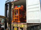 베스트셀러 제품 손 압박 시멘트 콘크리트 블록 기계 Qtj4-40