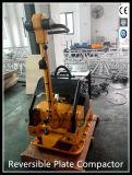 Тепловозный реверзибельный Compactor плиты с дуктильной плитой Gyp-50 утюга