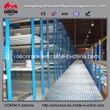 Cremalheira Multi-Layer do armazenamento com o assoalho de mezanino da construção de aço