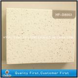 Pedra de quartzo branca artificial com espelho brilha