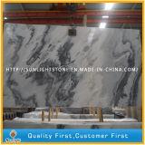 Nouveau poli naturelles pour les comptoirs de marbre blanc et les carreaux de revêtement de sol