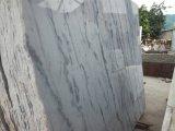 Популярные красивый мраморный камень Цена за квадратный метр из белого мрамора с черными вен