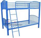 School moderno Dormitory 2 Decker Steel Bunk Beds con Storage y Stairs para Kids
