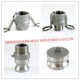 Accoppiamenti rapidi dell'acciaio inossidabile di tipo a
