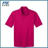 100%Polyester secam a camisa de polo apta na alta qualidade
