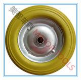 8 polegadas PU espuma especial cadeira roda plana livre pneu