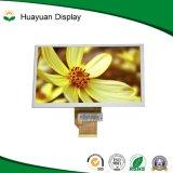 7 indicador do LCD da tela de toque da definição 800*480 da polegada