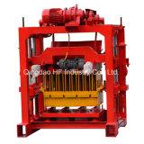 Manuelle Qt4-40 Ziegeleimaschine den Block zementieren, der Maschinen-Verkauf in Äthiopien bildet