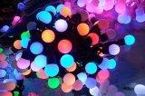 Decorações quente do Natal/casamento/partido da luz da corda do diodo emissor de luz 10m da venda as 100 iluminam C.A. 110V 220V da iluminação, impermeável