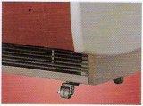 De Diepvriezer van de Opslag van de Vertoning van het Roomijs van Gelato met 6 Dienbladen van het Roestvrij staal (wdb-V6)