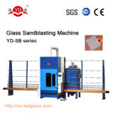 自動PLCのタッチ画面のガラスサンドブラスティング機械