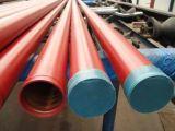 Stahlrohr des Nut-Lack-Kleber-Mantel-ERW Smls