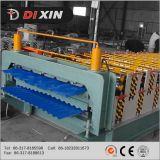 Doppelte Schicht gerunzelt und Dach-Blatt-Panel-Rolle, die Maschine bildet