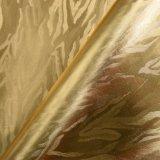 Forma metálica Faux Couro, Foiled Bag Couro Couro Embalagem decorativa