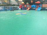 Les matériaux neufs du PVC extérieur folâtre le plancher pour le basket-ball, tennis, suivant la cour de jeu de sports
