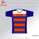 China proveedor jersey de fútbol de la sublimación de tinta para el equipo