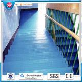 Резиновый напольный оформление/Установите противоскользящие напольный коврик/спортзал резиновый пол