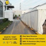 記憶の使用(hy014G)のためのPVCサイドウォールが付いている耐久アルミニウム倉庫のテント